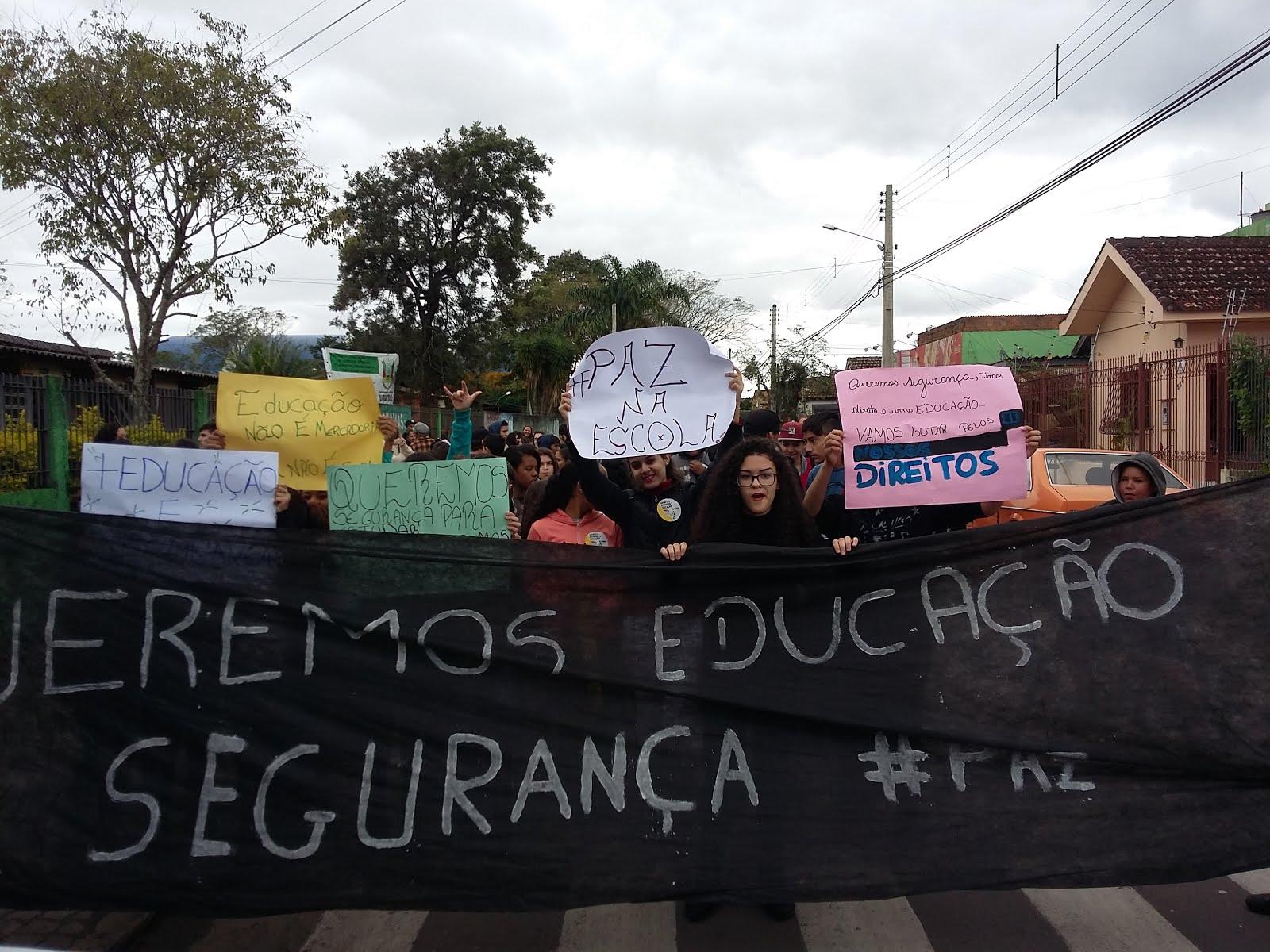 Manifestação!