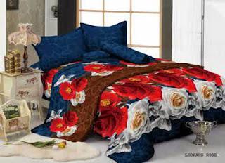 Sprei Kintakun Luxury Leopard Rose