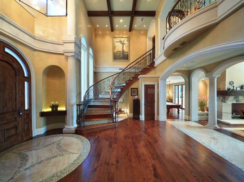 Foyer Hallway Florida : Tricked out mansions showcasing luxury houses fabulous