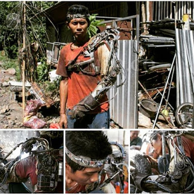 Indonesia's very own real life Iron Man, Tawan