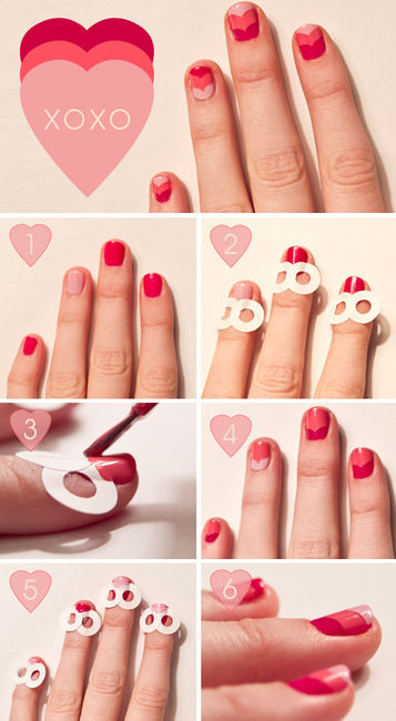 Love My Hairstyle How To The Xoxo Nail Art