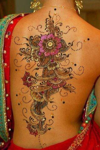 vontade e pensamento tatuagens indiana de henna. Black Bedroom Furniture Sets. Home Design Ideas