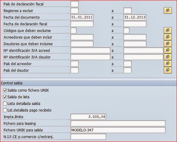Programa RFIDESM347 otros campos de selección