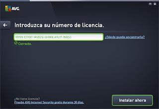 Serial AVG Internet Security 2015