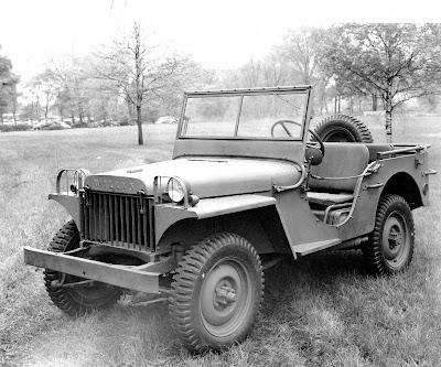 1941 Jeep Willys Ma. La Jeep a été découverte en