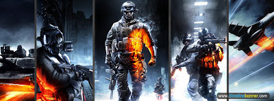 Battlefield 3 Facebook Timeline Cover