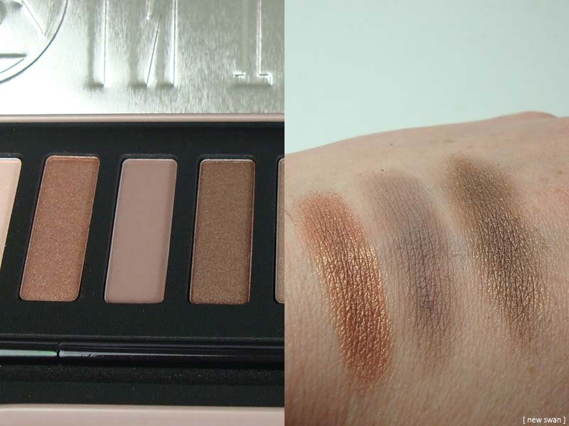 w7 in the buff - natural nudes - eye colour palette