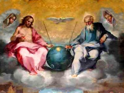 Glorification of the Eucharist by Ventura Salimbeni