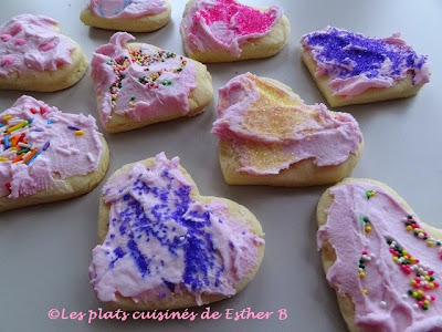 Biscuits à décorer (pour la St-Valentin)
