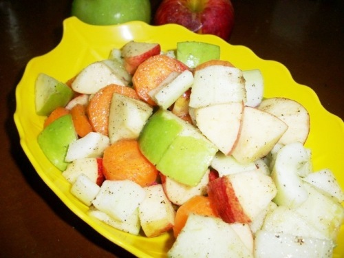 Colourful Vegetable & Fruit Salad - Healthy Recipes / Summer Special Recipes