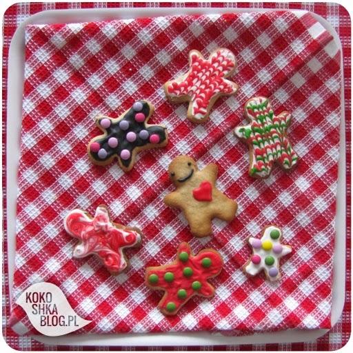 pierniki, pierniczki, ozdabianie ciastek, lukier, święta, jedzenie świąteczne