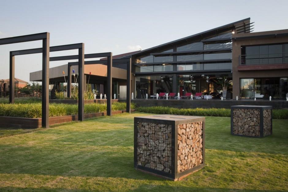 luxury modern mansion in pretoria south africa by