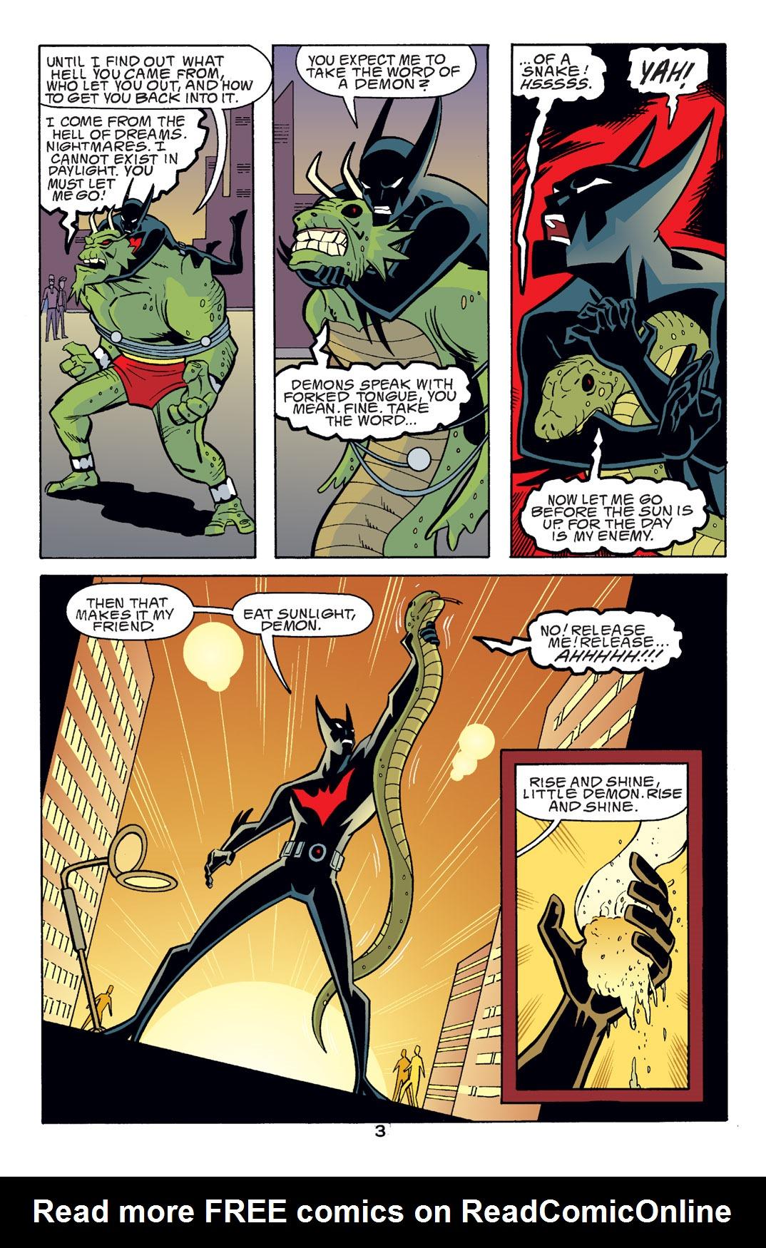 Batman Beyond [II] Issue #14 #14 - English 4