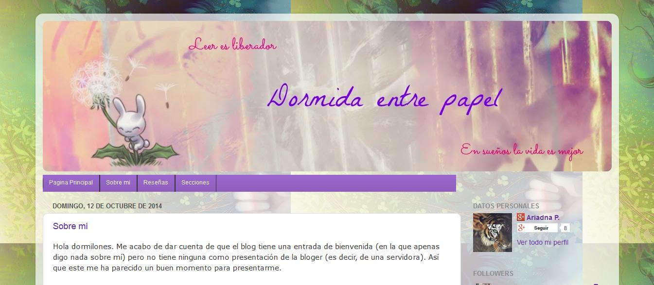 http://dormidaentrepapel.blogspot.com.es/
