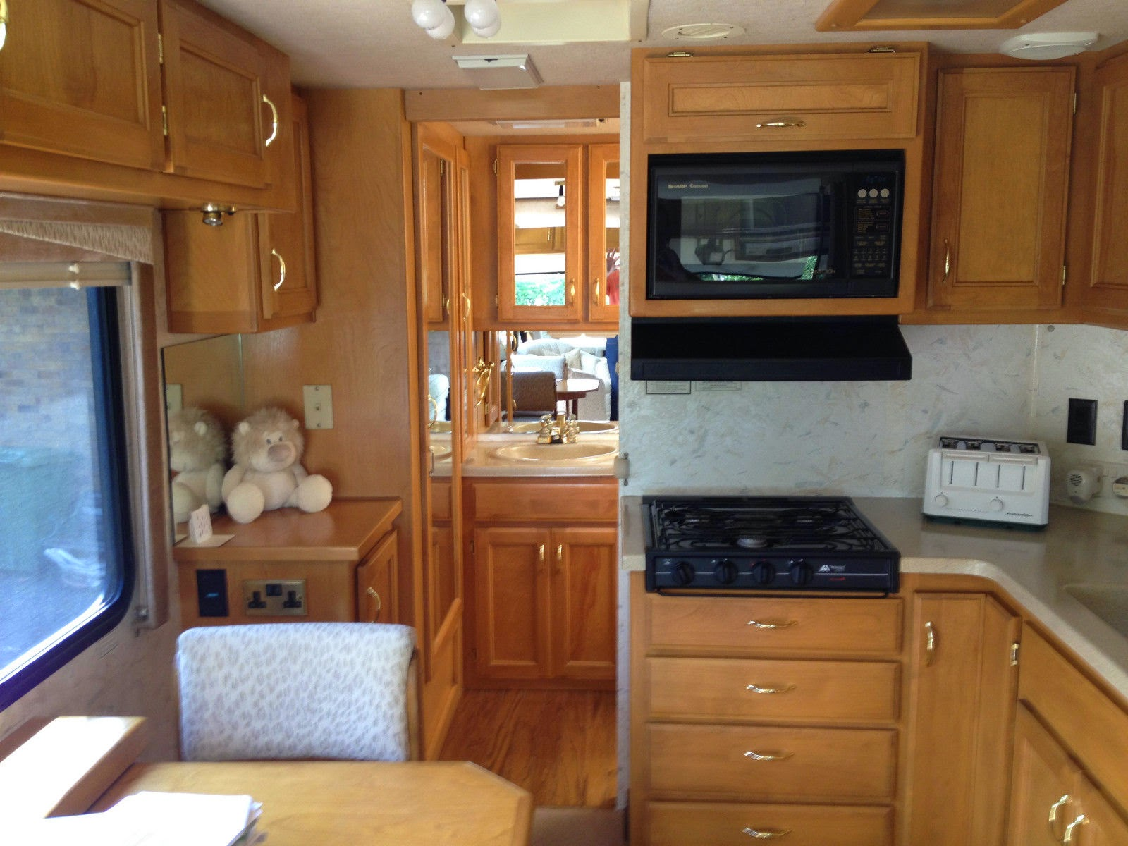 rvs  monaco safari trek pathfinder  sale  owner