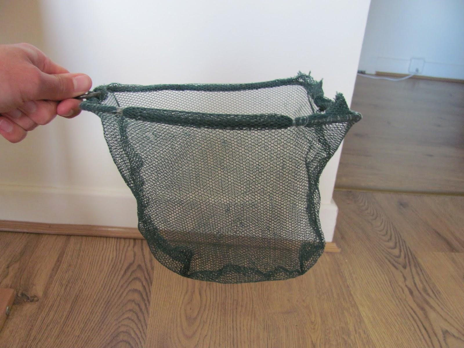 A green landing net pictured in Dublin, Ireland