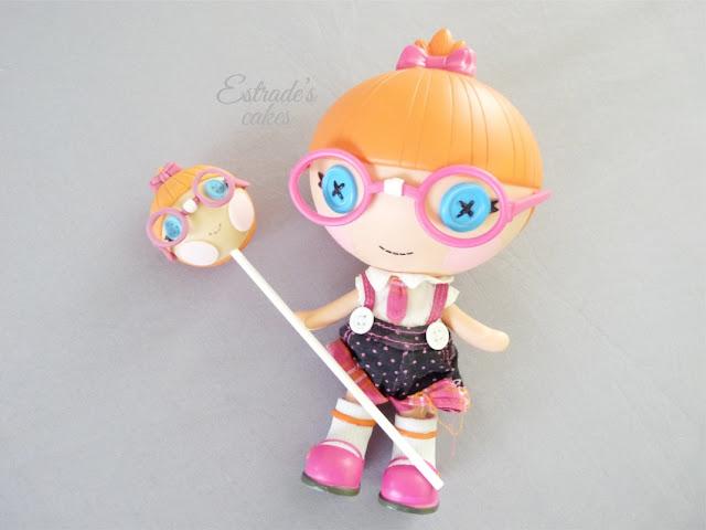 cake pop Lalaloopsy gafitas - 02