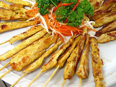 Tasty thai food recipes thai chicken satay recipe thai chicken satay forumfinder Images