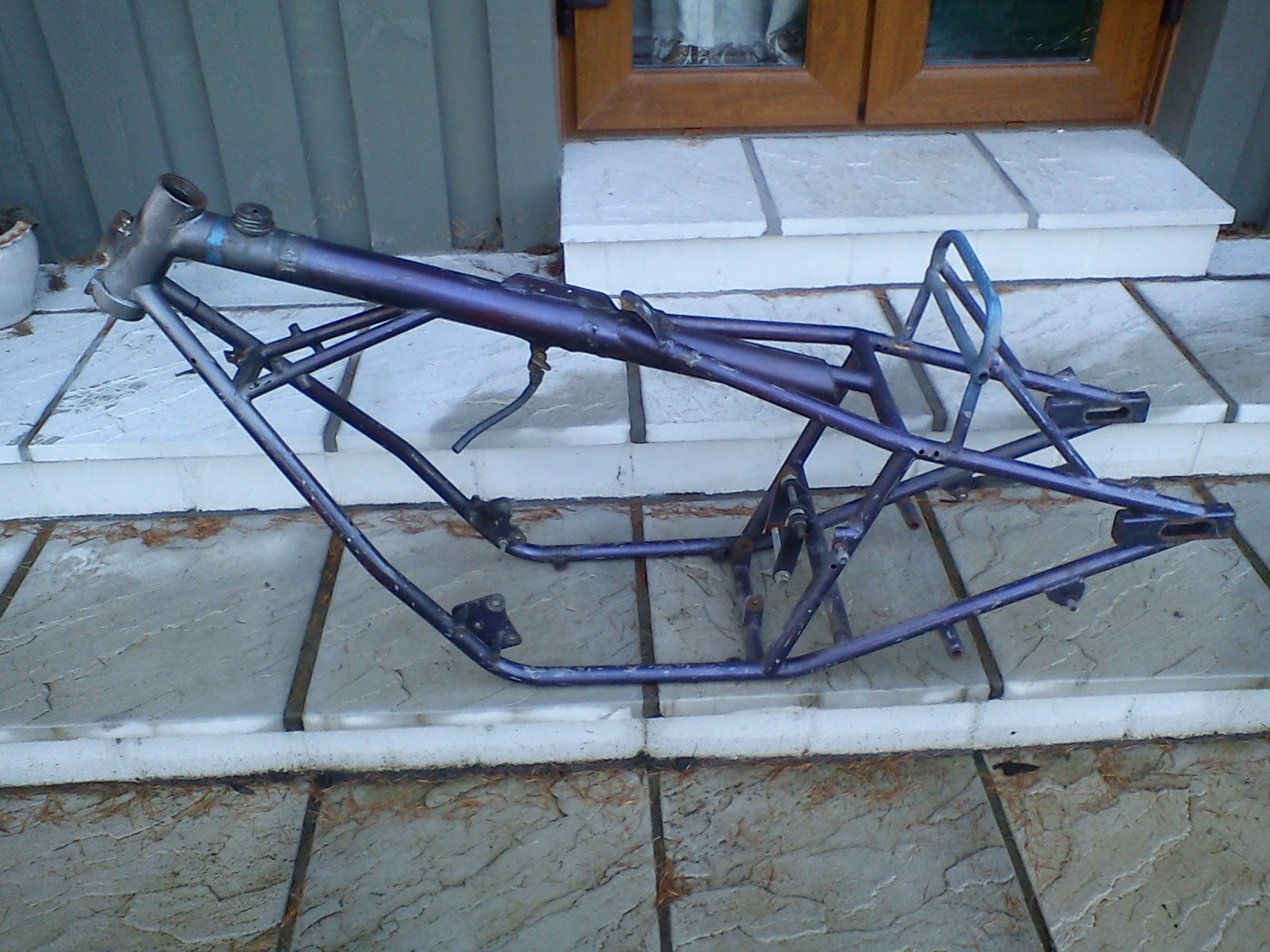 ATE the RICH UK: DRAG BIKE FRAME