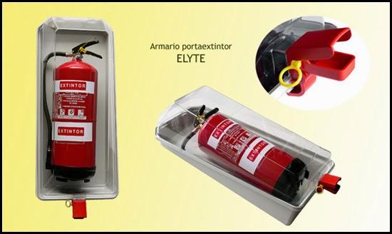 Armario extintor ELYTE, cabina portaextintor
