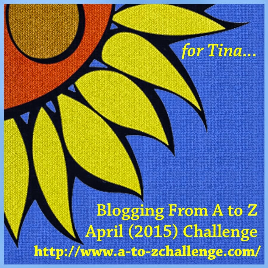 April 2015 A to Z Challenge