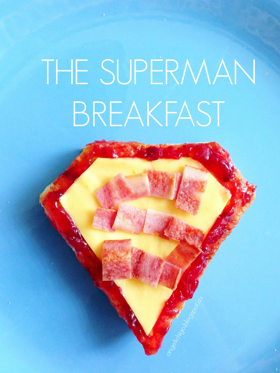 The Superman Breakfast {Playing with Food}