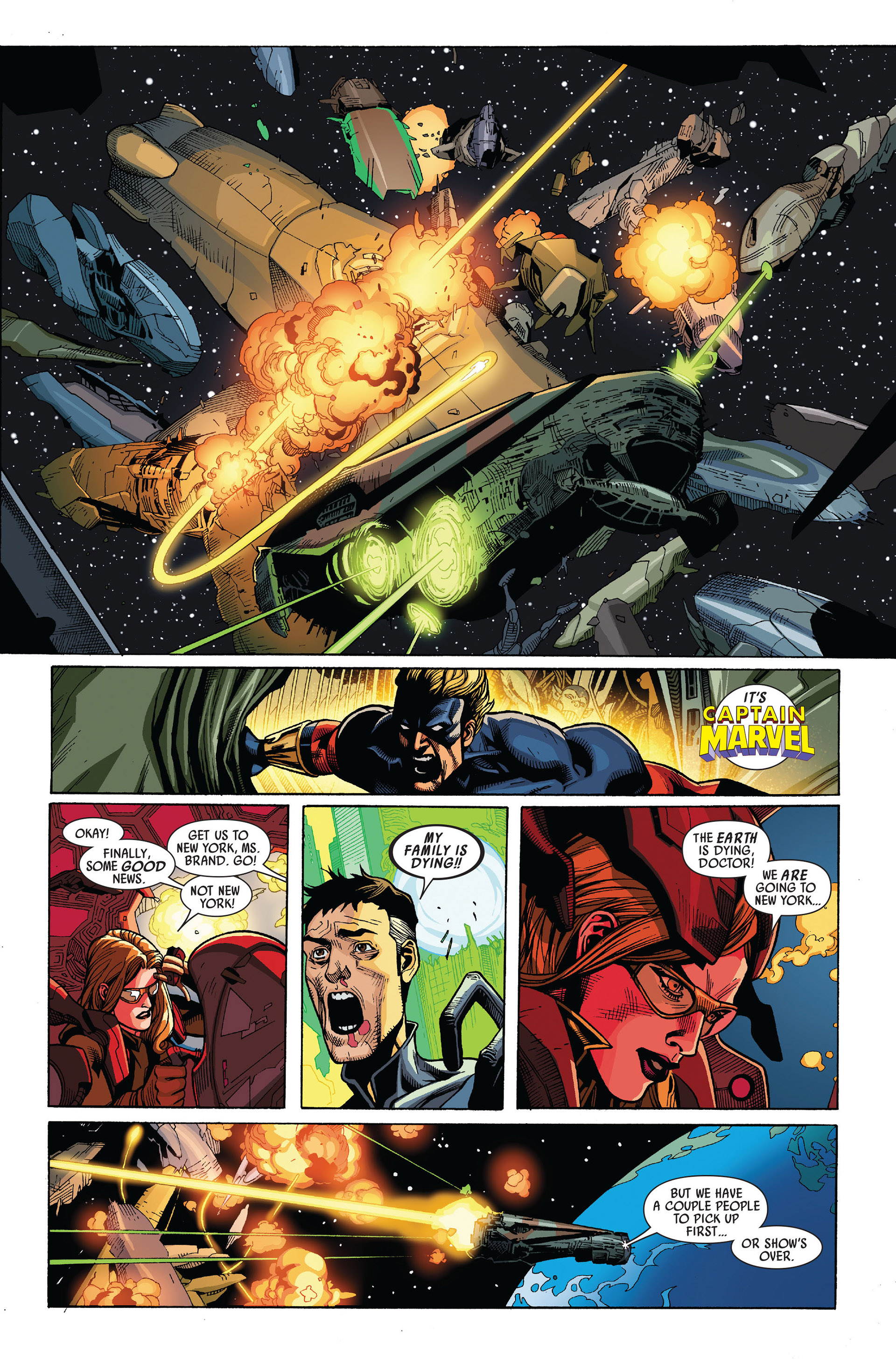 Read online Secret Invasion comic -  Issue #5 - 16