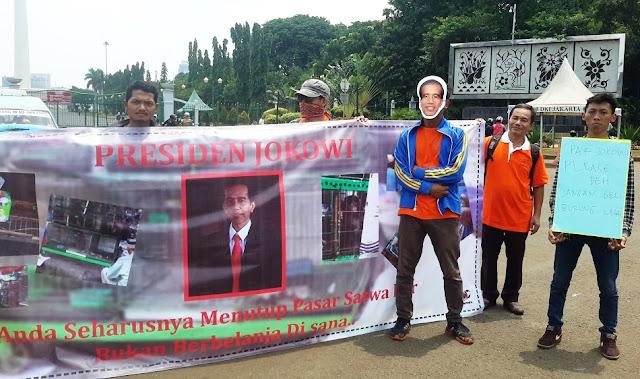Presiden Jokowi Tak Mendengarkan Suara Para Penggiat Lingkungan