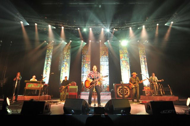 Third Day - Miracle 2012 live performance on stage