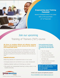 DO YOU WANT TO BECOME A TRAINER? JOIN THIS UPCOMING TRAINING HERE.
