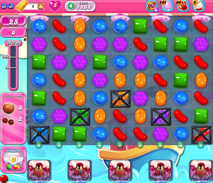 Candy Crush Saga 1161