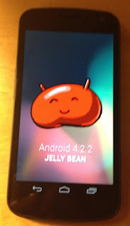 Android 4.2.2 Jelly Bean on Nexus 4
