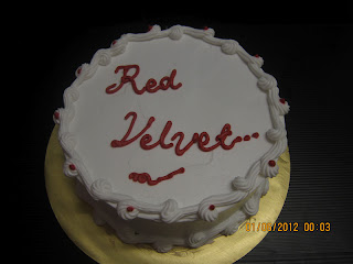 MINI RED VELVET - RM50 (Basic Deco)