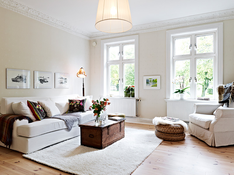 This Scandinavian style fits well into urban