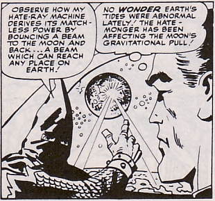 Fantastic Four #21, The Hate-Monger messes with the moon