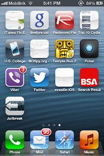 iPhone Jailbreak Untethered