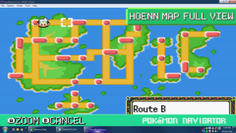Flora Sky Map Edit Version Pokemon Flora Sky