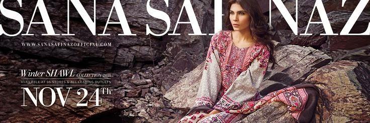 Sana Safinaz Winter Collection 2014-2015