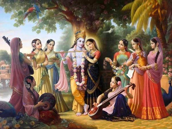 Krishna - Gopijan Vallabh