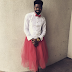 Funny! Basketmouth Turns Hostess (Photo)