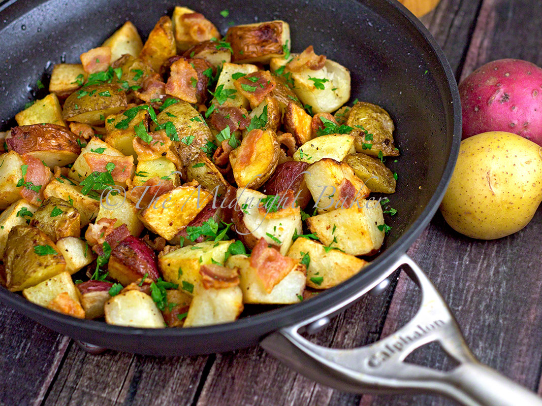 potatoes back in the place potatoes back in the bacon parsley roasted ...
