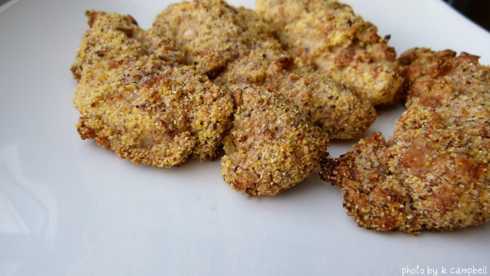 Oscar's Sandwich: Gluten Free Baked Chicken Strips