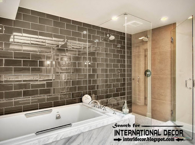 Latest beautiful bathroom tile designs ideas 2016 for Latest bathroom tiles design