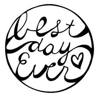 hand lettering best day ever
