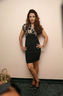 Actress Sonia Mann Latest Stills in Short Dress at Dhee Ante Dhee Release Press Meet 7