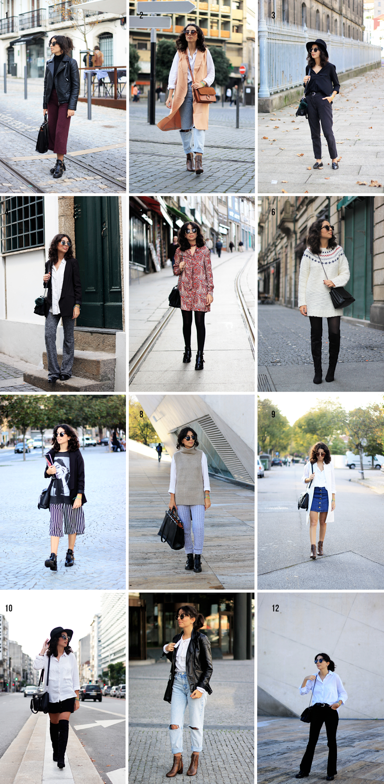 What I Wore In November