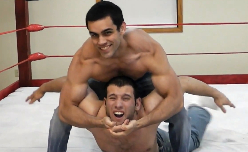 Wrestling muscle domination