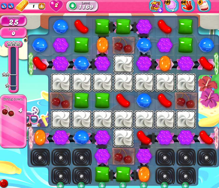 Candy Crush Saga 1169
