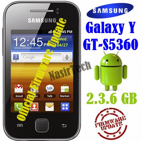 S5360XXMJ1 Android 2.3.6 Gingerbread Firmware for Galaxy Y GT-S5360