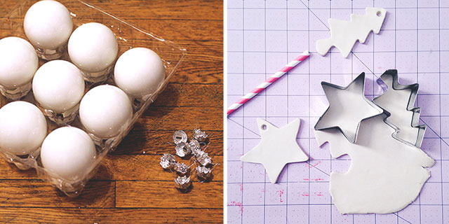 'Tis the season to get crafty - DIY ornament tutorials
